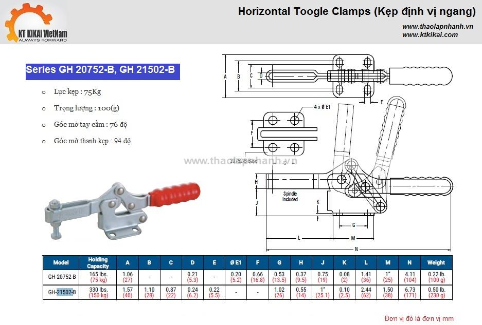 Kep-ngang-GH-20752B-21502B-catalog hanoi ho chi minh