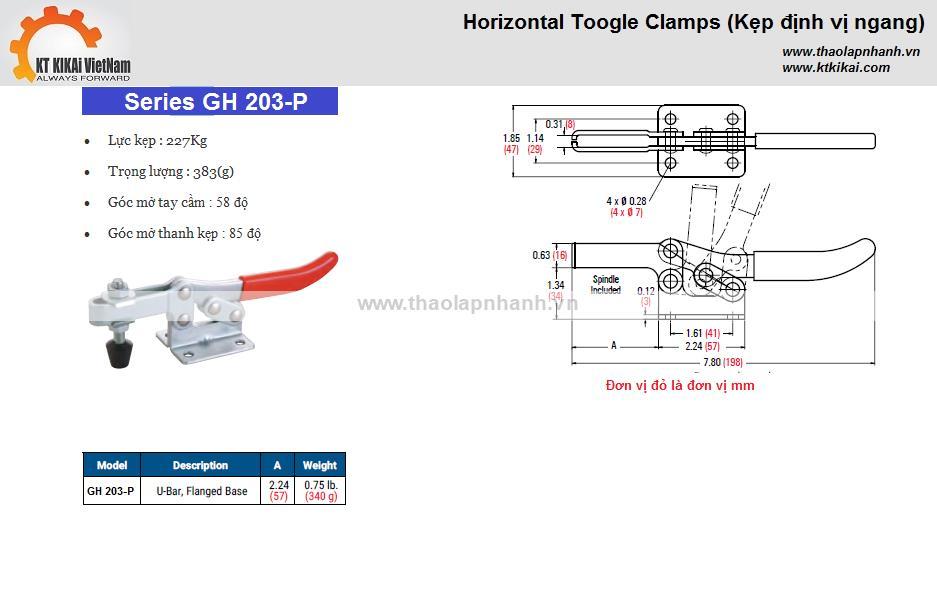 kep ngang-GH-203P-catalog hanoi ho chi minh