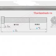 bản vẽ kĩ thuật pin đẩy ống