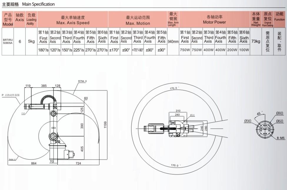 robot 6 truc tay gap san pham tai 5kg b hn hcm