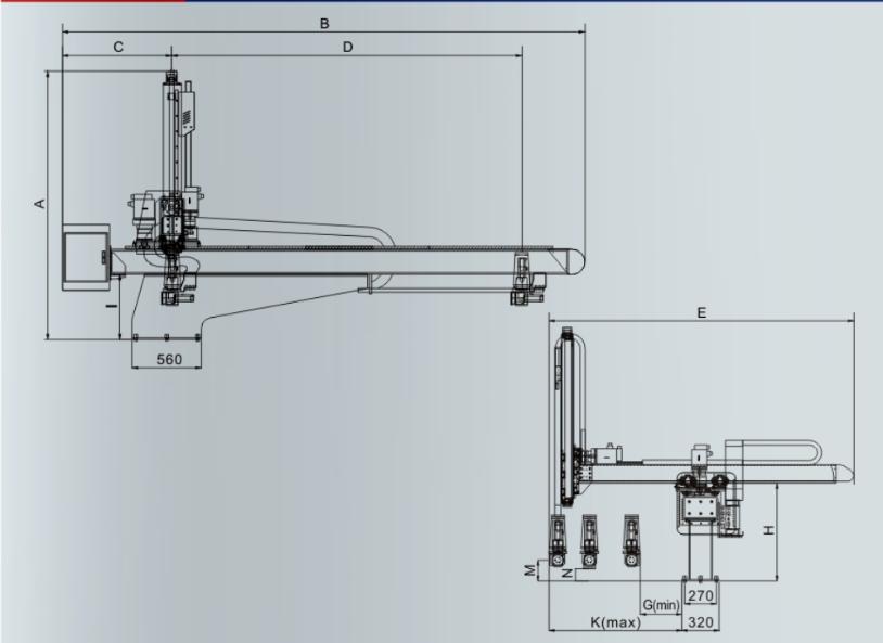 Robot 3 truc co lon dong co servo 11 hn hcm