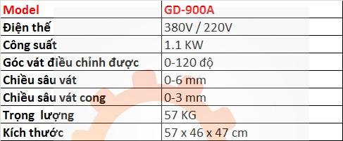 thong so ky thuat may vat mep GD-900A hn hcm